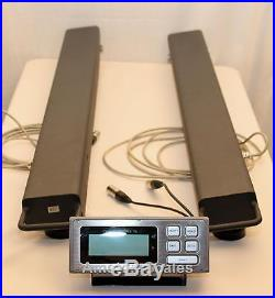 10,000 Lb Weigh Bars Beams Load Livestock Animal Scale 4h Cattle Chute Cow Horse