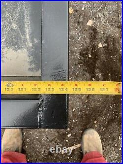 10ft Steel cattle feed trough