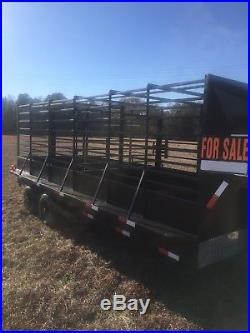 18' Cattle Trailer cow livestock farm