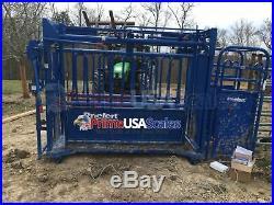 24 Bar Scale 5,000 lb Livestock Scale Preifert Chute Weigh Bars Cattle Scale