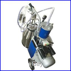 25L Electric Milking Machine For Cows WithBucket Adjustable Sheep 550W+US Plug