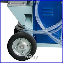 25L Electric Milking Machine For Farm Cows Cattle WithBucket 12Cows/hour Milker US