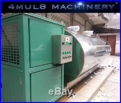4mul8 Machinery Auto Rotary Milking Parlor 50 Cows Puller + Flow Meter