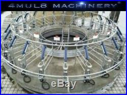 4mul8 Machinery Auto Rotary Milking Parlor 80 Cows Puller + Flow Meter