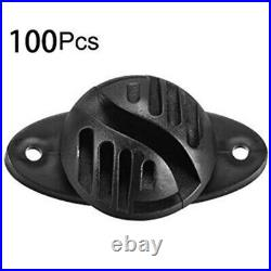 5X100PCS Electric Fence Insulator Horse Cattle Animal Electric Fence Acces V1D6