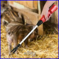 63.6CM Hot-Shot Electric Livestock Cattle Pig Prod Shock Prodder Rechargeable