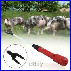 63.6cm Electric Rechargeable Livestock Cattle Pig Prod Animal Stock Prodder Farm