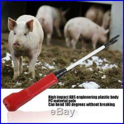 63.6cm Electric Rechargeable Livestock Cattle Pig Prod Shock Animal Prodder Farm
