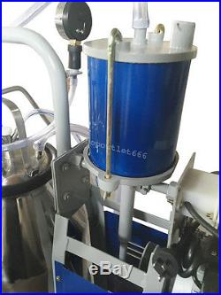 CA-25L Electric Milking Device Farm Cows Cattle-Dairy Stainless Steel Bucket