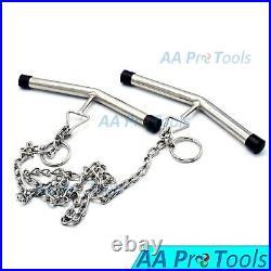 Calving Chain With Two Adjustable Handles Cattle 150cm Veterinary VT-1284