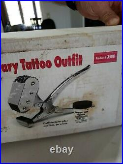 Cattle Livestock Cow Rotary Tattoo Outfit 4 Chain #3500