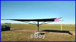 Cattle Shades for Kool cow shade stands (32'x32' with 12radius sides)