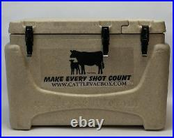 Cattle Vac Box Make Every Shot Count Box Vaccine Sandstone