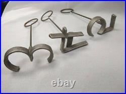 Complete set 0 9 aluminum freeze branding irons 4 inch numbers cattle horses