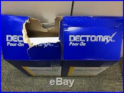 DECTOMAX Pour On Cattle Wormer Parasites 5 Liter 2 Pack FREE SHIP GREAT PRICE