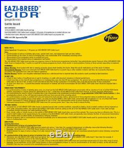 Eazi-Bred Cattle CIDR AI Artificial Cycle Breeding 10 Count
