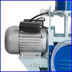 Electric Milking Machine Milker Goat Sheep Cattle Bucket 25L Vacuum Piston Pump