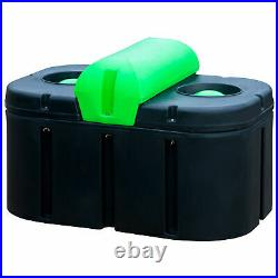 Energy-Free Super 2-Hole Cattle Waterer With Urethane Insulation, 27L x 44W x