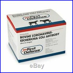 First Defense Cattle Cow Bolus 30 Count Boluses Scours Ecoli Feedlot