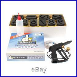 Freeze Branding Kit Brand A Bull CO2 Kit 4 Quick Identification Cattle