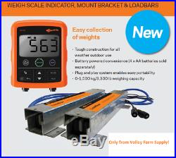 Gallagher W110 Entry Level Cattle Livestock Scale Package Free Shipping