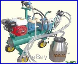 Gasoline + Electric Milking Machine for Cows+ EXTRAS Single SHIPPED BY SEA