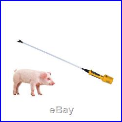 Hot-shot Shaft 36 inch Electric Livestock Prod for Pig Cattle with Battery New