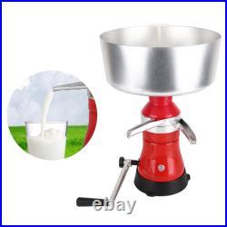 Household 80L Manual Aluminum Milk Centrifugal Separator Cows Milk Gadgets