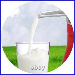 Household 80L Manual Milk Cream Separator Cows Milk Kitchen Tool for Farm