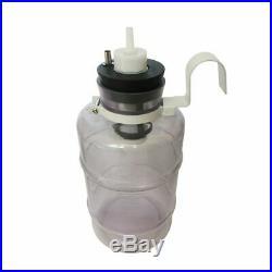 KAY 2L Portable Electric Breast Pump 2PCS Suction Nozzles For Farm Cows Milker