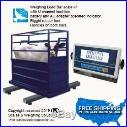 Livestock Load Bar kit Cattle Hog Goat Sheep Alpaca Pig Farm Scale SWS. 36-4H