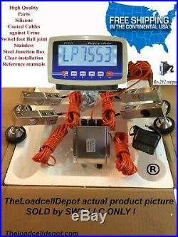 Livestock Scale Kit for Cattle Hogs Sheep Goats Pigs Squeeze Chutes Pallet 10klb