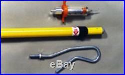 Long Shot Extended Pole Syringe with 30cc Syringe Medicate cattle sheep goats