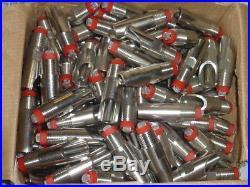 Lot of 100 Stainless Steel 1/2 Hog Nipple Water Drinkers (Cattle, Pig, Swine)