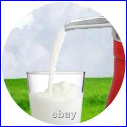 Manual Milk Cream Separator Hand Crank Butter Homemade Cows Milk for Farm