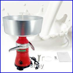 Milk Cream Electric Centrifugal Milkshake Separator for Goats Cows Milk80L/H Red