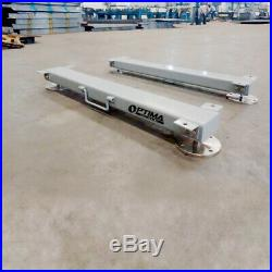 Optima OP-919HD Weigh Bars 48 5000 lb Livestock Cattle Chute Scale with Indicator