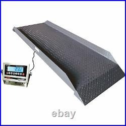 Optima Scale Single Cattle Scale- 5000-Lb Capacity 1-Lb Display Increment