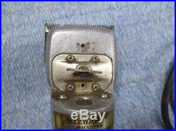 Oster STEWART Clipmaster Model 510A Large Clippers Horse / Cattle / Body Clip