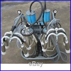 Piston Milking Machine For Cows Double Tank + EXTRAS SHIPPED BY SEA TO PORT