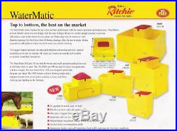 Ritchie Water-matic 150 Automatic Livestock Waterer Cattle, Horse, Sheep