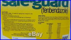 SAFEGUARD ORAL SUSPENSION Dewormer for Cattle Stomach & Intestinal Worms 1Gallon