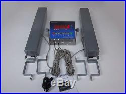 SWS-7630-24-LED Vet-Animal Cattle Livestock Hog Load Bar/Floor Scale Package