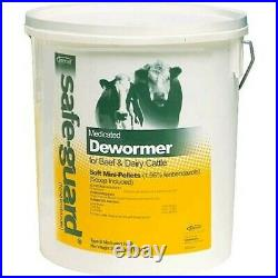 Safeguard 1.96% Mini Pellets Dewormer Beef Dairy Cattle 25 Pounds