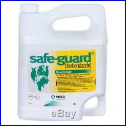 Safeguard Cattle Wormer Gallon-with Free Dosing Gun