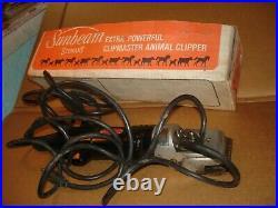 Sunbeam-stewart 510 Clipmaster Animal Clippers Cattle Horse Goat Sheep Shears