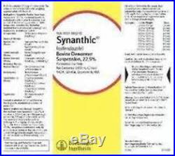 Synanthic Drench Wormer Cattle Sheep Parasite 500ml Dewormer Suspension 22.5%