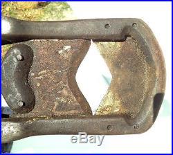 VTG CATTLE COW BULL STEER DEHORNER LG 48 JAMES SCULLY PAT 1892 Primitive TOOL