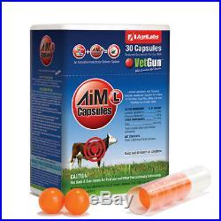 VetGun VetCaps 150 Aim-A GelCaps Cattle Insecticide 150 count Abamectin