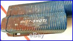 Vintage HOT SHOT Transistorized Cattle Prod Cow Pig Livestock Stock Prodder USA